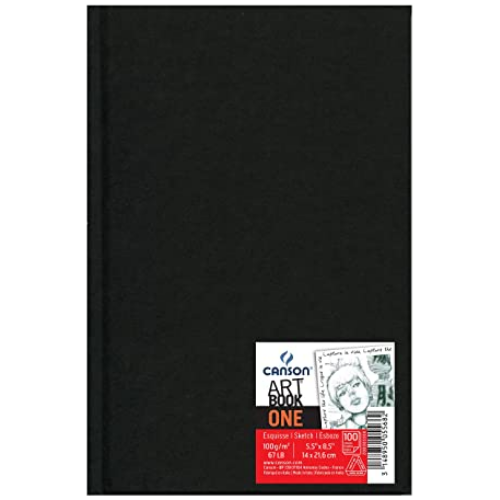 Sketchbook Canson Art Book One 5.5 x 8.5 (3)
